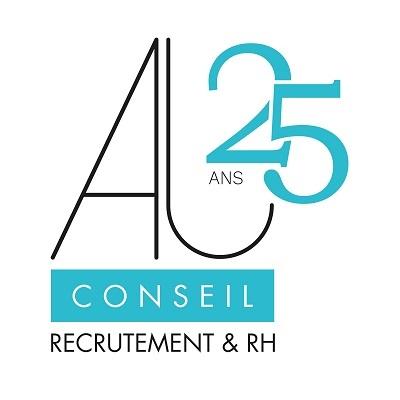 Logo AJ Conseil Recrutement & RH 25 ans