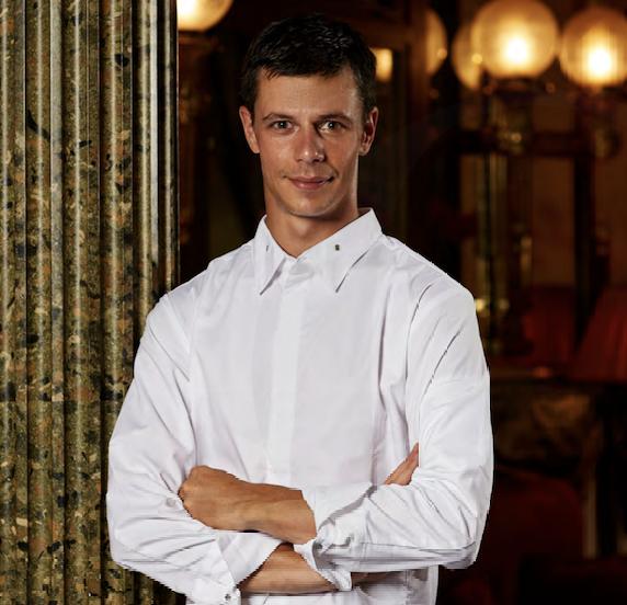 Gregory Rejou chef de cuisine du Restaurant