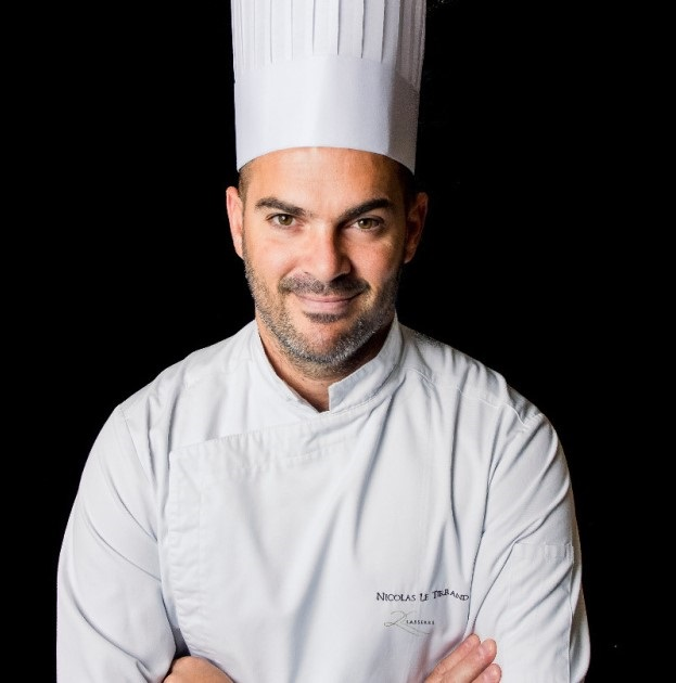 chef restaurant Lasserre Nicolas Le Tirrand