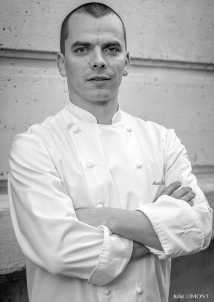 Marc Lecomte chef pâtissier restaurant Laurent