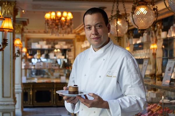 Patrick Pailler chef créations sucrées du Café Pouchkine