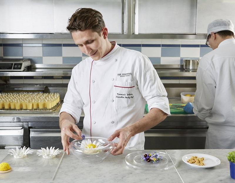 chef pâtissier François Delaire Peninsula Honh Kong